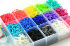600 LOOM RUBBER BAND JEWELLERY MAKER START UP KIT NEON BANDS BRACELET RING
