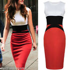 Abito Vestito Donna  Midi Dress Bodycon Bandage KEY LOVER 6273-B736 Tg M  L