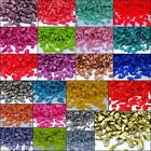 Various Colour Glass Pebbles Stone  Beads Table Decoration Garden Craft Wedding
