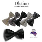 MENS BOW TIE by Distino - Pre-tied Bowtie for Wedding, Formal, Tuxedo