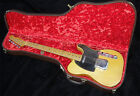 FENDER 1953-54 REISSUE FLAT POODLE TELECASTER TELE GUITAR CASE, VERY RARE MODEL