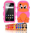 For Samsung Galaxy Ace S5830 S5839i Monkey Cartoon Soft Silicone Case Cover