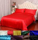 40mm 100% Pure Silk Duvet Quilt Doona Cover Pillow Cases Cover Set All Size