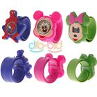 Lovely Cartoon boys and girls Mouse Bendable Rubber Strap WristWatch KZUK
