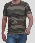 French Army CCE Camo T Shirt Military Surplus Camouflage T-Shirt 100% Cotton