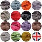 80 Metres Waxed Cotton Cord Bundle 1mm Or 2mm Jewellery Making String Thread Ml