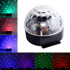 DJ Club Disco KTV Party Bar RGB Crystal LED Ball Projector Stage Effect Light US