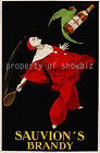 Sauvion's brandy French print poster, large 4 sizes available, France 71