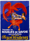 Vintage French  print poster, large 4 sizes available, France 91