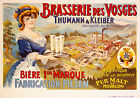 Vintage French beer print poster, large 4 sizes available, France 99