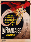 Vintage French cycle ad print poster, large 4 sizes available, France 117