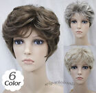 (6 colors) Short Curly Women Female Lady Hair Wig Perruque Good quality! #L-3041