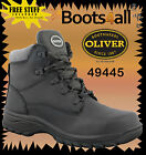 Oliver Steel Toe Work Boots WOMENS 49445 Black Lace Up Boot  Brand new!!!