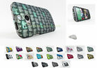 for HTC One M8 Design 2 Piece Hard Shell Case Cover +PryTool