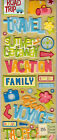 K & Co Adhesive CHIPBOARD varieties~different themes~Dimensional~Cute!