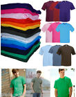 New Mens Plain Fruit Of The Loom Valueweight T Shirt Top S-XXL