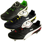 Mens Boys Puma Esito Finale SG Black Soft Ground Football Boots Soccer Cleats