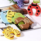 5PCS Baby safety Door Guard Jammer Stoppers Finger Protector Cute Animal Designs