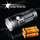 SkyRay 3 4 5 6 7 LEDs 6000-10000LM King Flashlight Torch Hunting Camping Cree