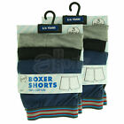 6 Pair Pack 100% Cotton Boxer Shorts Loose Fit BNWT Boys