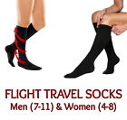 FLIGHT TRAVEL SOCKS MENS WOMENS LONG HAUL COMPRESSION SOCKS AIR TRAVEL JOURNEY