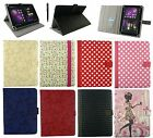 "Universal Multi Angle Wallet Case Cover Folio with card slot for 7"" inch Tablet"