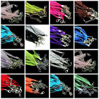 5 Pcs - New Organza Ribbon & Cord Necklace - Clasps Necklace Making Chains ML