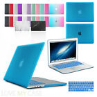 Rubberized Hard Case Cover with Keyboard Skin for Apple MacBook Air, Pro, Retina <br/> FIT 12&quot; 13&quot; 15&quot; inch Pro, Air &amp; Touch Bar Models
