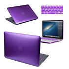 Rubberized Hard Case Cover with Keyboard Skin for Apple MacBook Air Pro 12 13 15