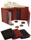 Mens Wallet Purse Notecase Real Leather Wallets 12 Card Slots 2 ID Windows #0645