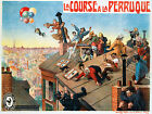 Vintage French advertisement print poster, large 4 sizes available
