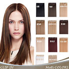 """OneDor 24"""" Straight 3/4 Full Head Kanekalon Synthetic Clip in Hair Extensions"""