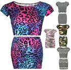 NEW WOMEN CROP TOP AND MINI SKIRT AZTEC DOG TOOTH ARMY  2 PC SET UK SIZE 8-14
