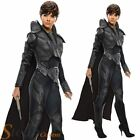Ladies Sexy FAORA Superman Man Of Steel Superhero Fancy Dress Costume Outfit