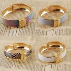 Hot Selling Jewelry Frosted Golden P Wristband Tibet Lady Bangle Cuff Bracelet