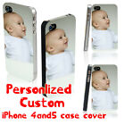 Personalised Custom Printed Your own Photo Case Cover for iPhone 4/ 4S / 5 / 5S