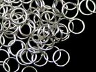 Silver Plated Jewellery Jump Rings Assorted Size Quantity 3mm 4mm 5mm 6mm Etc ML