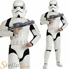 Men's Deluxe Star Wars Storm Trooper Fancy Dress Costume Halloween 70s 80s Film