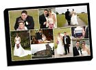 canvas print montage fully framed including custom design collage