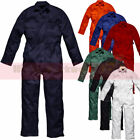 Boilersuit Safety Work Coveralls Stud Overalls Mens Tuff Workwear Unisex 240gsm