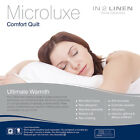 Luxurious Microluxe 600gsm Comfort Quilt - Winter Weight