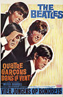The Beatles Vintage ad print poster, large 4 sizes available