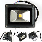20W  LED Flood light White / Warm White Power Outdoor Spotlights Black