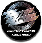 BEST OF 48 ZZ TOP ROCK GUITAR TAB TABLATURE SONG BOOK ANTHOLOGY SOFTWARE CD