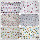 Brand New Baby Crib Cot Flat Sheet 100% Cotton Boys/Girls 150*100cm