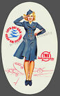 Vintage TWA Military Airlines Advertisement print poster-4 large sizes available