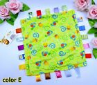 Infant Baby Toddler Kid Child Taggies Brilliant Little Soft Plush Blanket Toy 0+