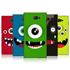 HEAD CASE DESIGNS JOLLY MONSTERS CASE COVER FOR SONY XPERIA M2