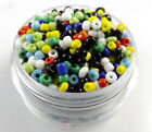 Czech  22g 2mm/3mm/4mm Round mix colors Glass Seed Beads DIY Jewelry Making