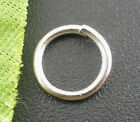 wholesale lots Silver Tone Open Jump Rings 8x1mm Wholesale